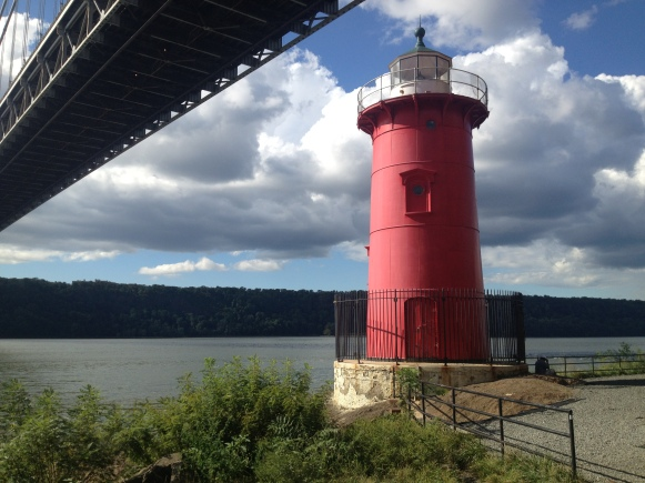 Little red lighthouse under the bridge