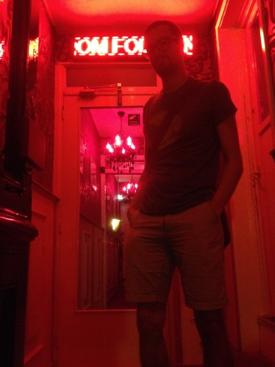 Red Light District (away from the windows, so it's ok)